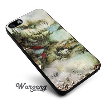 Bon iver iPhone 4s iphone 5 iphone 5s iphone 6 case, Samsung s3 samsung s4 samsung s5 note 3 note 4 case, iPod 4 5 Case