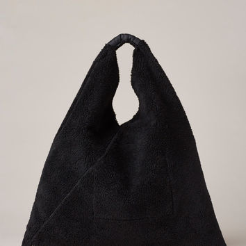 Totokaelo - MM6 Maison Martin Margiela Black Hobo Bag - $330.00