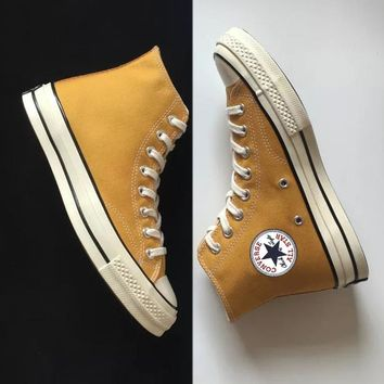 """Converse"" Fashion Casual Women Men High Tops Canvas Flats Sneakers Sport Shoes Pink G"