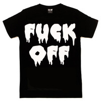 Fuck Off T Shirt [B] | KILL STAR