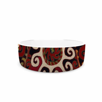 "S Seema Z ""Burst of diverse"" Multicolor Ethnic Pet Bowl"
