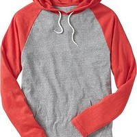 Men's Lightweight Color-Block Hoodies