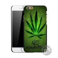 Weed Attack Pot Leaf Printed Mobile Phone Case for Apple iPhone 5 5s 4 4s 5c 6 6