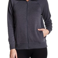 Z By Zella | Double Diamond Fleece Jacket | Nordstrom Rack