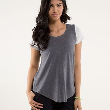 serene short sleeve | women's tops | lululemon athletica