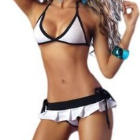 Exotic Stripper Wear - White 3 Piece Set