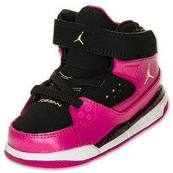 DCK7YE Girls' Toddler Jordan Flight SC 1 Basketball Shoes