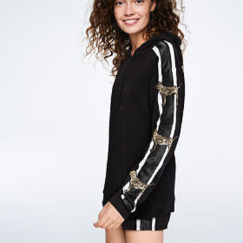 Bling Campus Pullover Tunic - PINK - Victoria's Secret