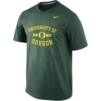 Nike Oregon Ducks Stamp Tri-Blend T-Shirt –  Green