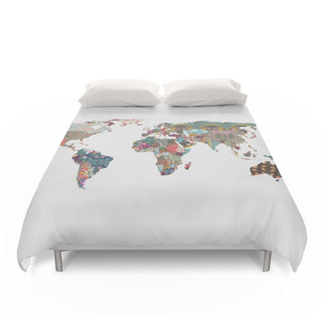 Society6 Louis Armstrong Told Us So Duvet Cover
