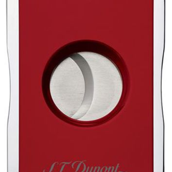S.T. Dupont MaxiJet Red & Chrome Cigar Cutter