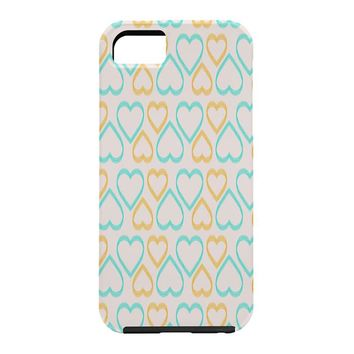 Allyson Johnson Cute Hearts Cell Phone Case
