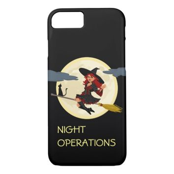 Night Operations funny customizable iPhone 7 Case