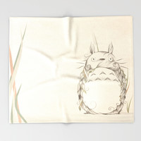 Poetic Creature Throw Blanket by LouJah | Society6