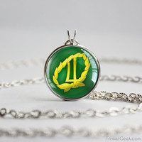 Sailor Moon Sailor Jupiter symbol pendant