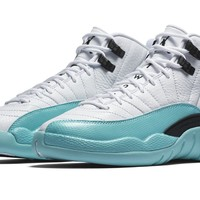 GS Jordan 12 Retro Light Aqua