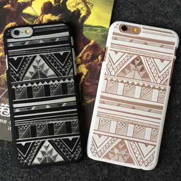 Hollow Out Lace Ethnic iPhone 5se 5s 6s 6s Case