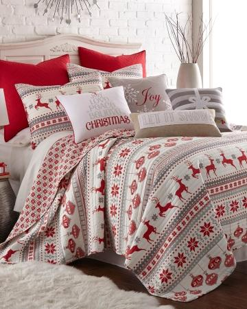 Silent Night Holiday Quilt Collection From Stein Mart For