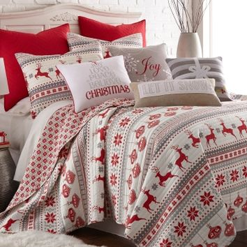 Silent Night Holiday Quilt Collection - Home | Stein Mart - Stein Mart: US Channel