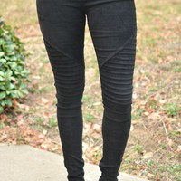Lasting Love Jegging - Black