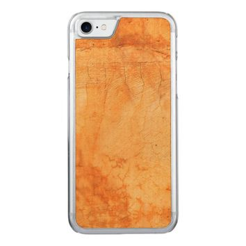 Italian style terracotta brick wall carved iPhone 7 case