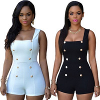 Jumpsuits Bodycon Playsuits Ladies One Piece Romper = 5709591681