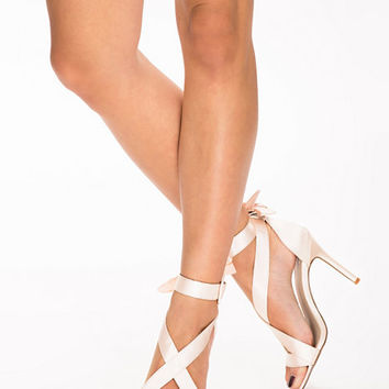 High Heel Satin Sandal, NLY Shoes