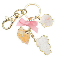 The Aristocats Keychain Key Holder Lovely ❤ Disney Store Japan