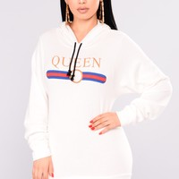 Making A Statement Hoodie - White