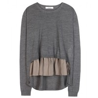 dorothee schumacher - i feel fine wool and silk top