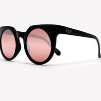 Quay Frankie Black Sunglasses, All Black