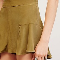 Free People Haight Silk Short