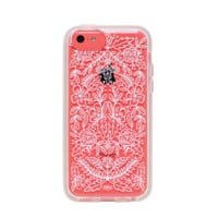 Floral Lace Everyday iPhone 5c Clear Case | Protective iPhone Cover | RIFLE PAPER Co. | Imported
