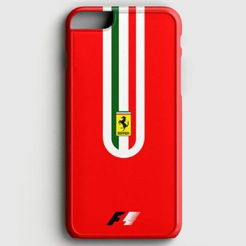 Fernando Alonso F1 Ferrari Scuderia Team iPhone 6 Plus/6S Plus Case | casescraft