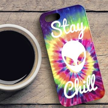 Stay Chill iPhone SE Case
