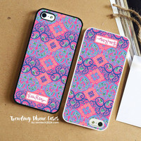 Behind The Gate-Lilly Pulitzer iPhone Case Cover for iPhone 6 6 Plus 5s 5 5c 4s 4 Case