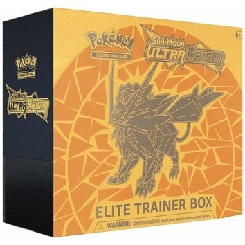 Pokémon TCG: Sun & Moon-Ultra Prism Elite Trainer Box Featuring Dusk Mane Necrozma