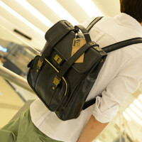 PU Backpack for Men