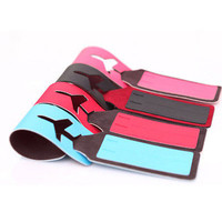 Hot Leather Travel Bag Trip Luggage Suitcase Name Holder Label ID Tags Cute