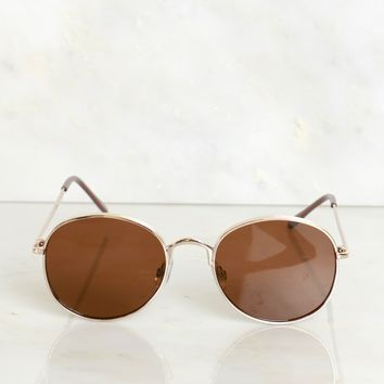 Statement Sunglasses Brown