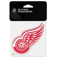 "NHL Detroit Red Wings Perfect Cut Color Decal, 4"" x 4"""