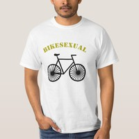Cool Bike design with quote Bikesexual T-Shirt