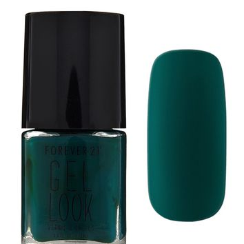 Dark Green Gel Look Nail Polish