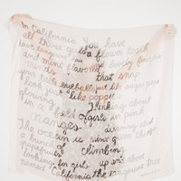 $96.00 California Poems Scarf by leahgoren on Etsy