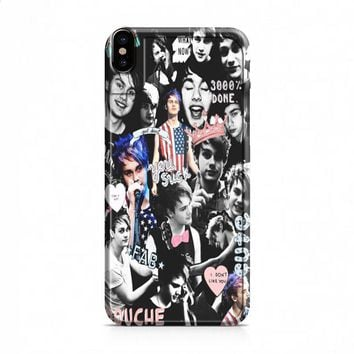 Michael Clifford Collage 3 iPhone X case