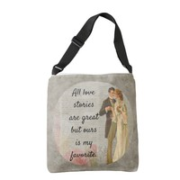 All Love Stories Great -- stylish Crossbody Bag