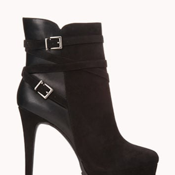 Sleek Platform Booties
