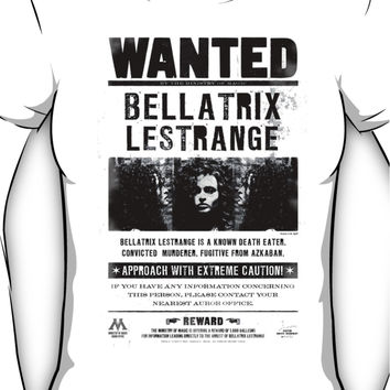 Bellatrix Lestrange WANTED T shirt Women's T-Shirt