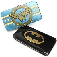 ThinkGeek :: Superheroine Hinge Wallets