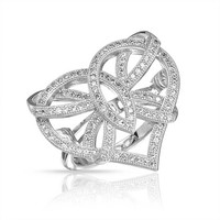 Bling Jewelry Bow Down Heart Band